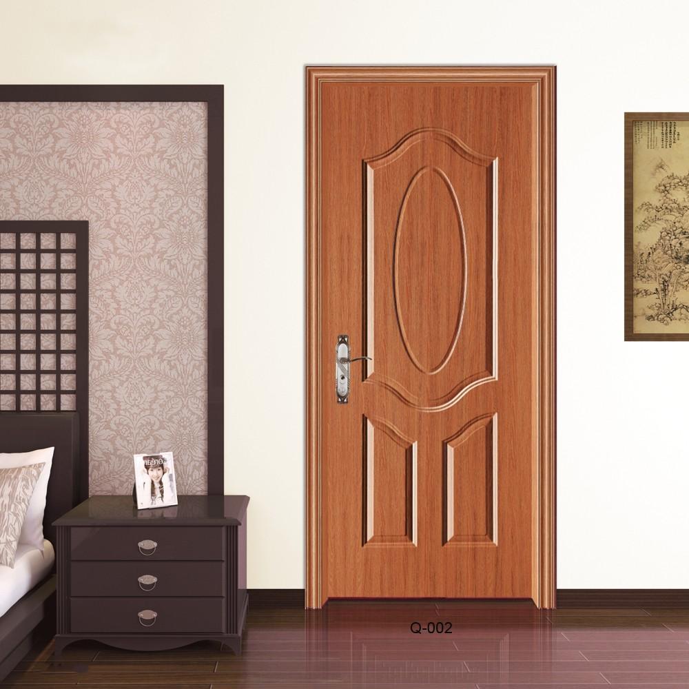Newest popular high quality cheap price modern wood door designs mdf internal wood bedroom door