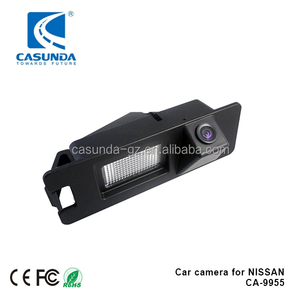 Mini camera night vision waterproof IP68, car rearview camera for NISSAN March k13, NISSAN Micra k13
