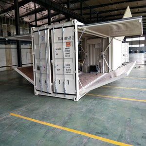 Move-in Explosion-proof green steel 20FT container house with 50mm thickness EPS sangwich panel