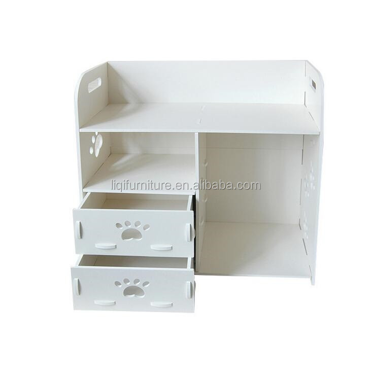 White Carving Storage Bins