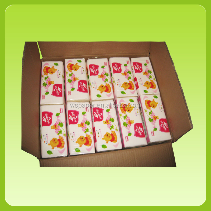 China Manufacture Comfortable Soft pack facial tissue virgin pulp
