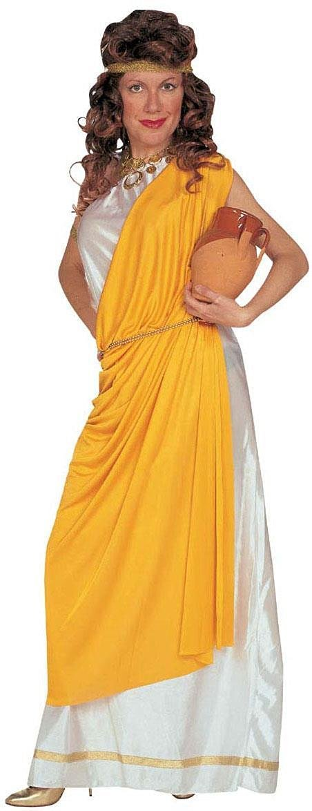 Buy XL ROMAN LADY COSTUME (gown toga belt headband bracelet) in ...