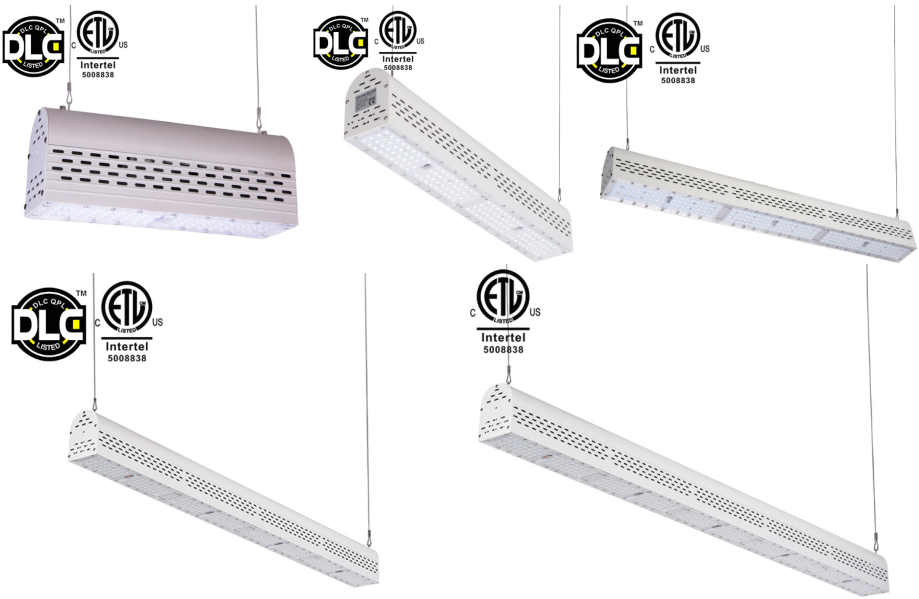 Suspended Led Commercial Aluminum Linear Power Lifetime Products 100W Led Linear High Bay Light