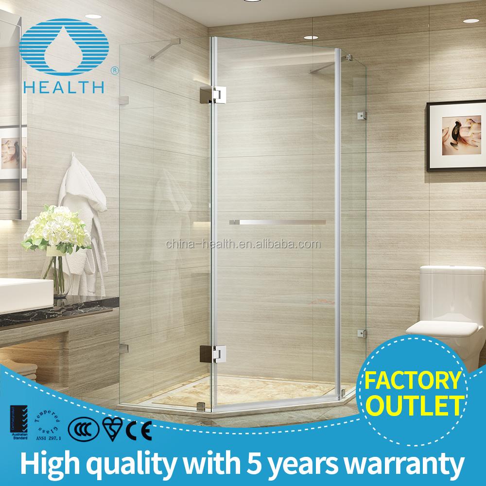 Hexagon Hinge Shower Enclosure Jl139 - Buy Hexagon Shower Door ...