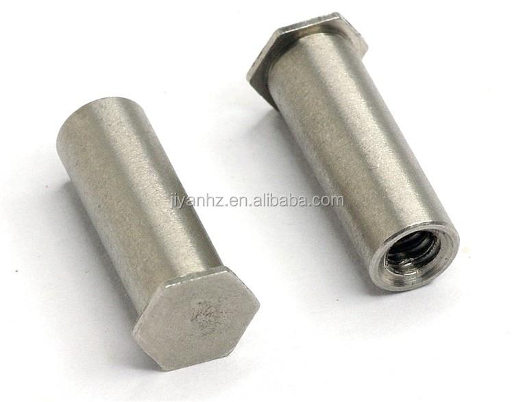 Metal parts manufacturer steel threaded blind nut inserts