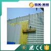 China manufacturers low thermal conductivity fiberglass central air-condition duct insulation glass wool