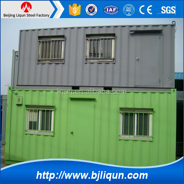 China newprefab architecture design houses for container house