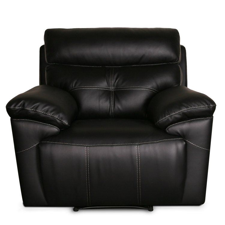 Modern 2015 new design recliner sofa electric leather cinema 3 seats recliner home theater seat recliner sofa with console
