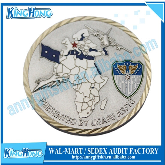 Round Shape Custom Metal Coin