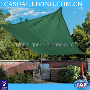 Patio Sun Shade Sail Camping Canopy Awning