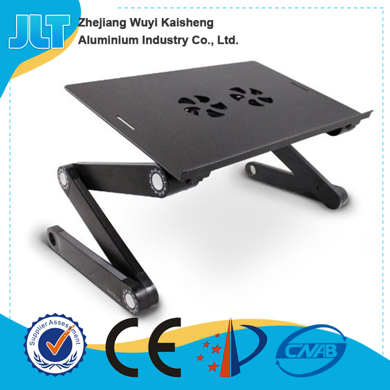Metal material storage folding portable lap desk