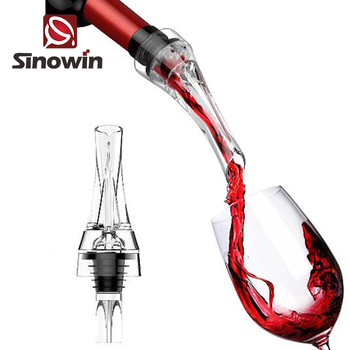 Premium Wine Aerator Pourer Decanter Spout Aerating Pourer for Wine