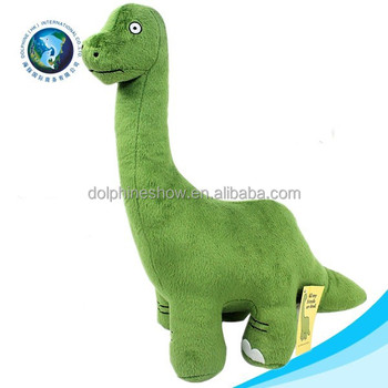 Cute Dinosaur Plush Stuffed Big Green Cartoon Giant Dinosaur Toy