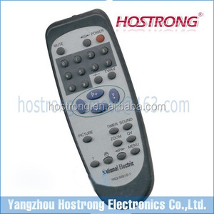 Egypt Iraq Syria Jordan market TV remote control UNIT for National Electric YKQ-9381S-1
