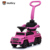 Mercedes Benz license newest 6v electric pink ride on toys custom kids toy foot to floor 5 in 1 car toy with push bar