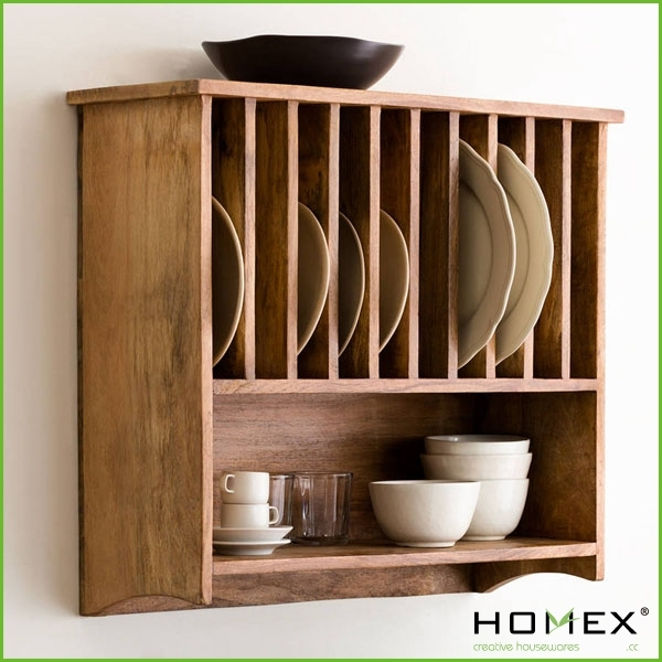 Nicely wall mounted plate rack/ HOMEX
