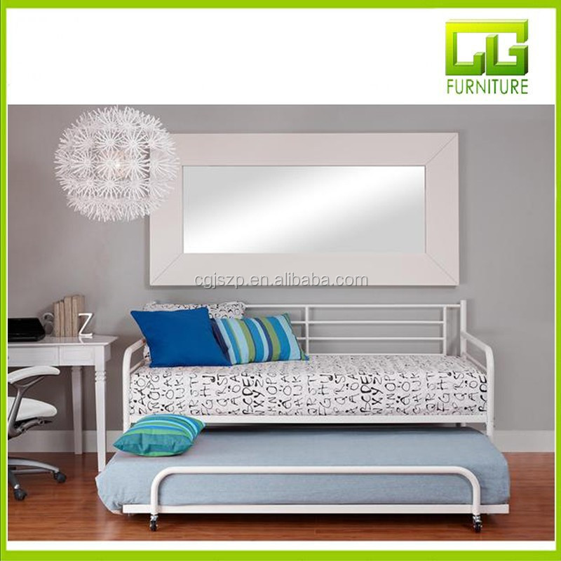 Modern Sofa Cum Bed Design Wrought Iron Sofa Metal Day Bed