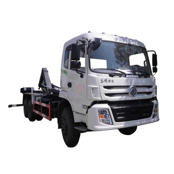 Dongfeng 6x4 Bin Garbage Truck Hydraulic Lifter Garbage Collection Truck