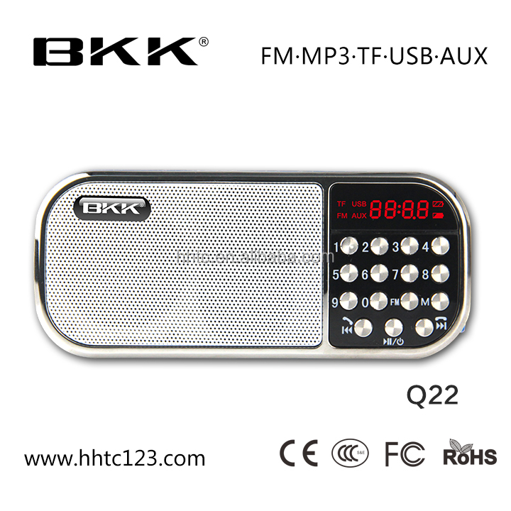 Bluetooth speaker storage device with FM radio and Micro