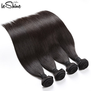 Wholesale Raw Cuticle Aligned Brazilian Human Hair Weving 100% Free Chemical Treatment Top Quality