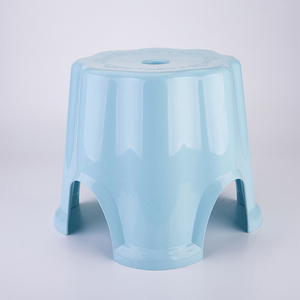 Elegant Multi-specification Durable Colorful Square Stackable Plastic Stool for household