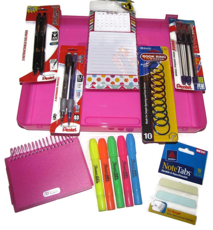BAZIC Glitter Gel Pen w/ Cushion Grip