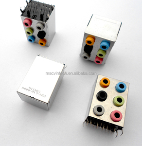 Desktop Motherboard Audio Connector Six Holes