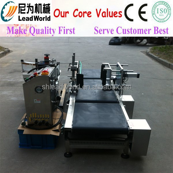 bottles,cans,barrels,jars full automatic double sides labeling machine