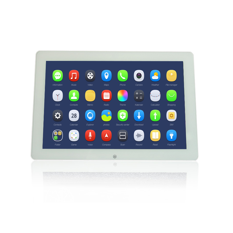 Wand montieren Android Tablet 12 zoll mit rj45 Port