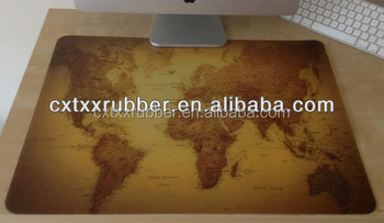 Rubber printed world maps desk padsworld maps printing counter mats rubber printed world maps desk pads world maps printing counter mats gumiabroncs Images