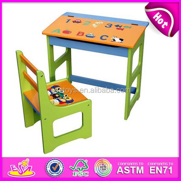 Best School Table School Chair For Kids,school Desk Student Table Chair  Set,wooden