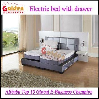 El Más Nuevo Diseño Muebles De Dormitorio Cama Ajustable Eléctrica ...