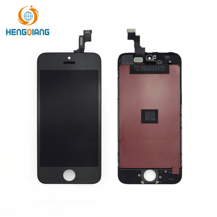 Celular preto para iphone 5s lcd + touch screen assembly