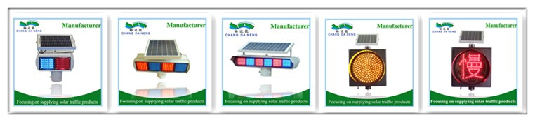 Road Safety Solar All In One Led Traffic Sign Board