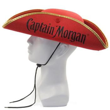 4da453066aafc Red Felt Pirate Captain Morgan Hat Mh-1536 - Buy Captain Hat