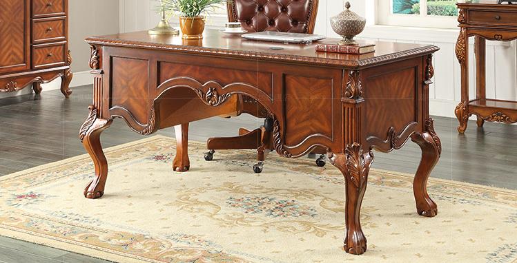 Arredamento Ufficio Vintage : Solido di legno vintage scrivania del computer assemblare per mobili