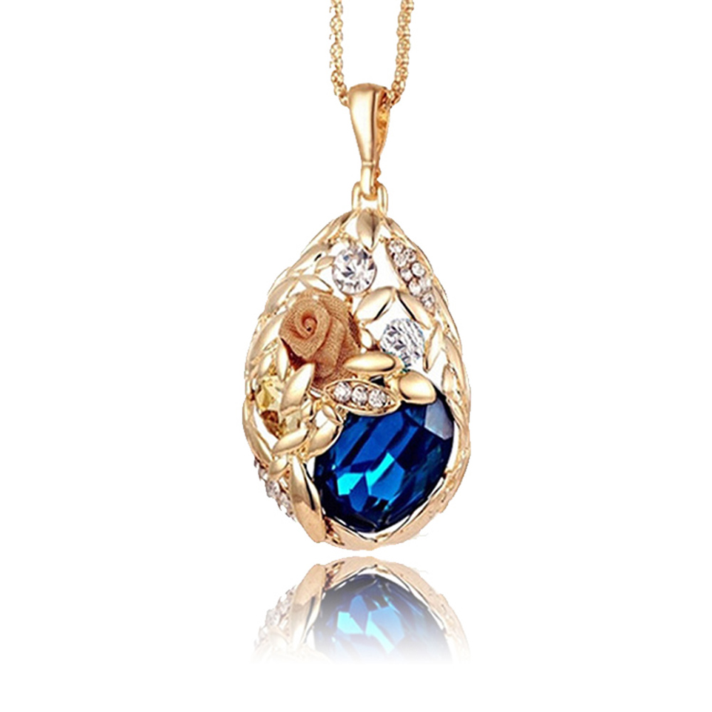 gold women necklace diamonds online jewellery shop pendant for temple senco