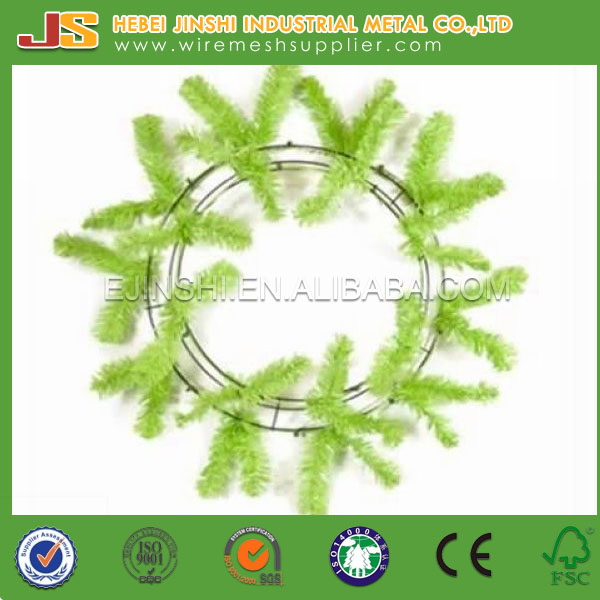 Christmas Decoration Metal Wire Wreath flower Form