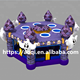 New design Halloween inflatable human whack a mole for adult
