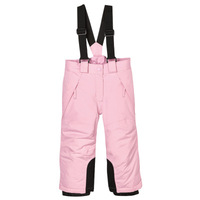 New outdoor ski pants for boys and girls with straps winter pants waterproof waterproof windproof kids warm pants