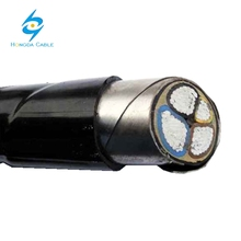 Aluminum Conductor Material and PVC Jacket pvc power cable 3x95mmq+50mmq VLV22 cable