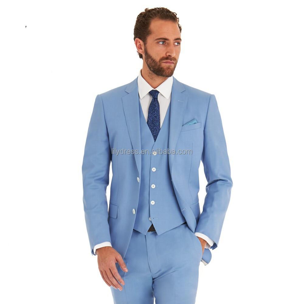 grossiste costume homme bleu ciel acheter les meilleurs costume homme bleu ciel lots de la chine. Black Bedroom Furniture Sets. Home Design Ideas