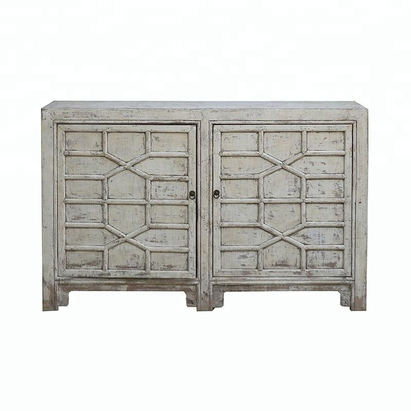 Chinese Antique Reproduction Rustic & Distressed Shabby Chic Buffet ...