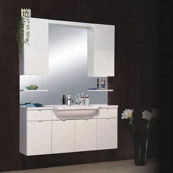 Grosir Tunggal Sink Wastafel Ruang Tamu Wash Basin Kabinet Dan Desain Cermin Dengan Vanity