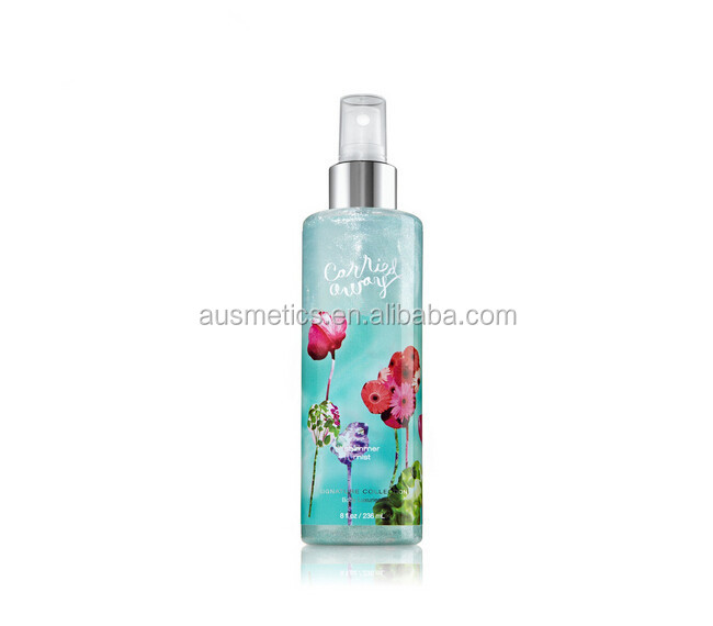 Shimmer Body Spray & bad en lichaam werkt body mist