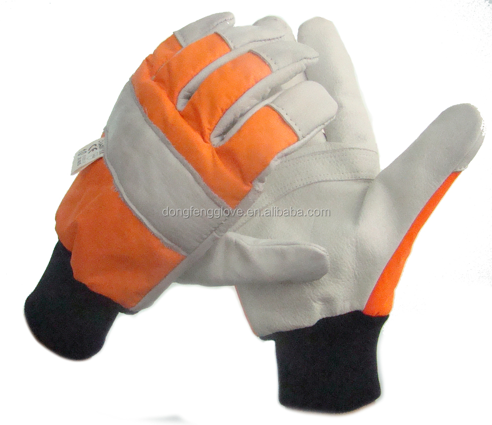 Good quality leather work gloves - High Quality Cow Split Leather Work Gloves Protective Protection