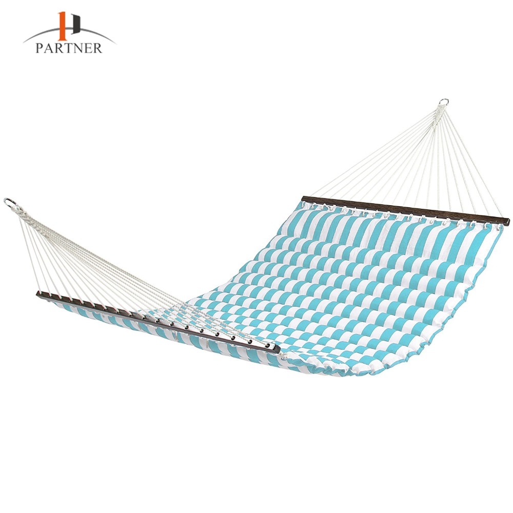 Best Choice Products Deluxe Double Two Person Hammock With Pillow For Patio Yard