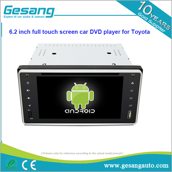Android 6.0 <strong>Toyota</strong> universal <strong>car</strong> dvd player with HD full touch screen without dvd