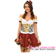 Oktoberfest Beer Girl Dress Sexy School Girl Costume Photos