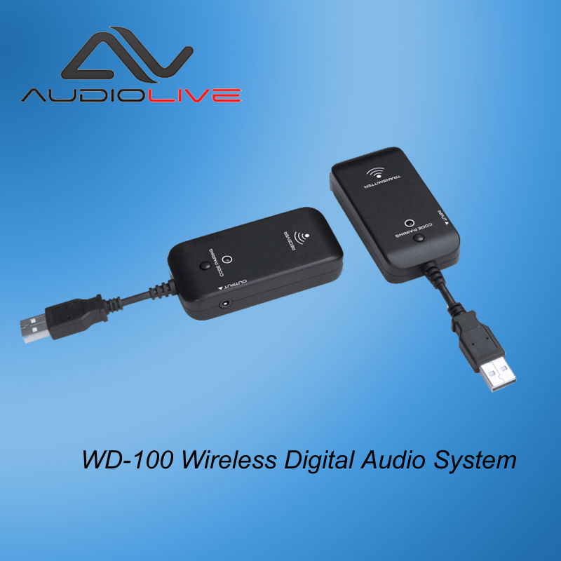 2.4GHz Professional Digital Wireless Audio Transmit Receive System